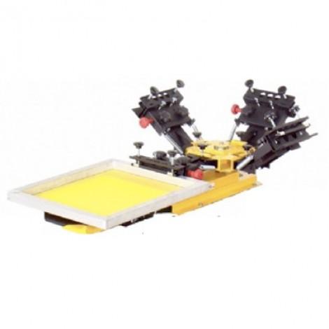 Machine d'Impression Manuelle Vastex Modulaire 1 Table – 4 Couleurs