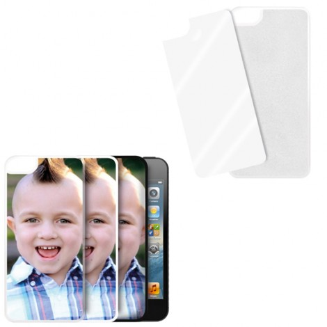 Cover trasparente con piastrina stampabile - iPhone 5C