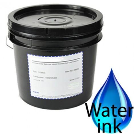 Emulsions diazoïques pour encres à l'eau