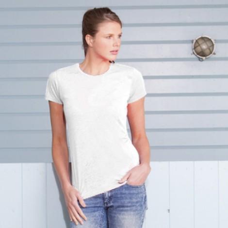 Tee-shirts femme blanche pour la Sublimation. Lot de 6 articles