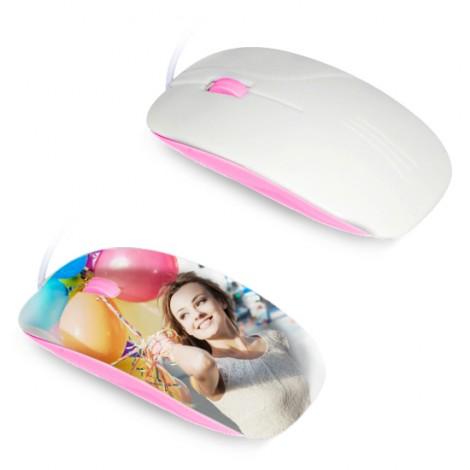 Mouse per sublimazione 3D - Rosa