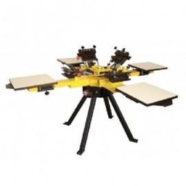 Machine d'Impression Manuelle Vastex Modulaire 4 Tables – 4 Couleurs