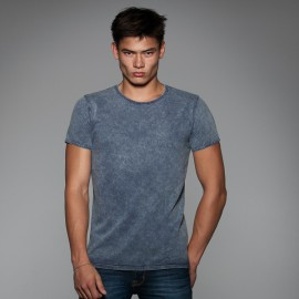 TEE-SHIRT HOMME À MANCHES COURTES. B&C DNM EDITING MEN. DENIM. LOT DE 5 ARTICLES
