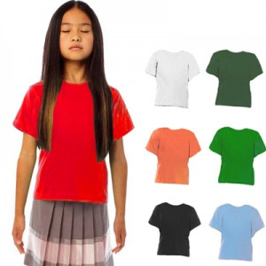 Tee-shirt Exact Kid B&C. Lot de 10 articles.
