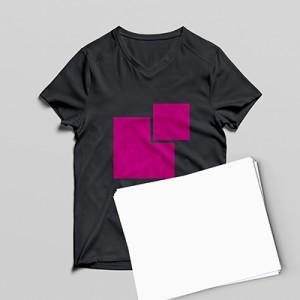 carta transfer stampa su tessuti scuri