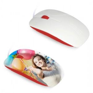 Mouse per sublimazione 3D - Rosso