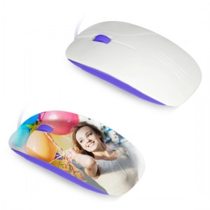 Mouse per sublimazione 3D - Viola