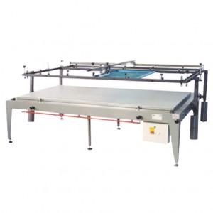 Machine d'Impression Manuelle mod. Racle Guidée et Ouverture à Pantographe 70x100 Avec Table Aspirante