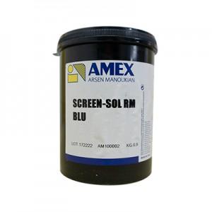 SCREEN SOL RM BLU 1 KG - Émulsion pour encre à l'eau