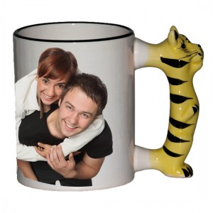 TASSE NEUTRE ANSE ANIMAL - TIGRE
