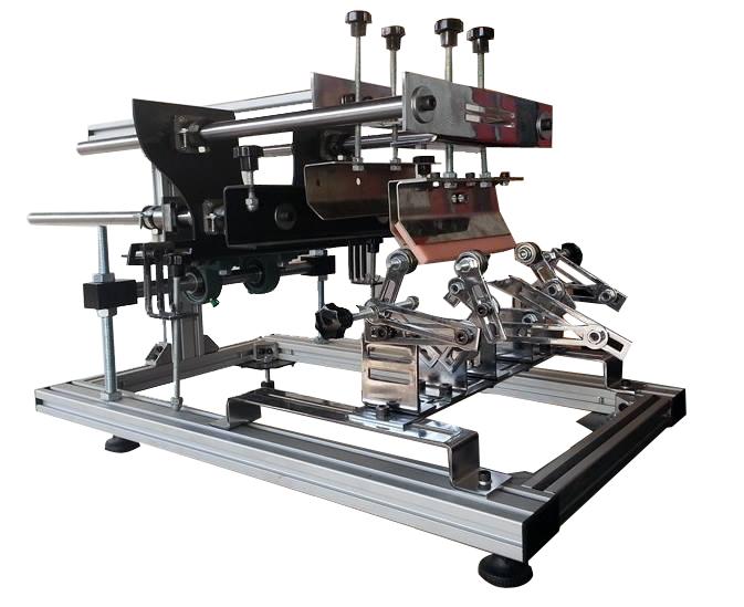 macchina per stampa serigrafica in tondo